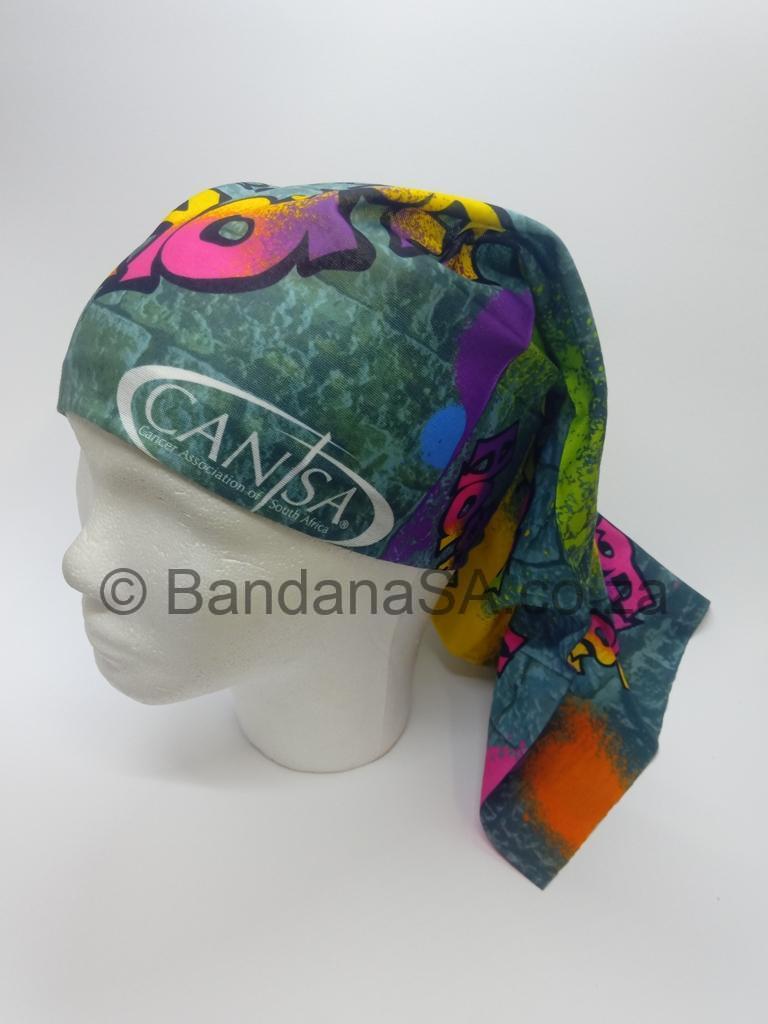 Bandanas CANSA Front View